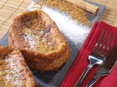 Torijas : pain perdu à l'espagnole (Espagne) : Recette de Torijas : pain perdu à l'espagnole (Espagne) - Marmiton