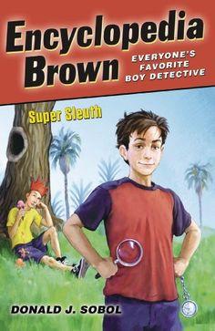Encyclopedia Brown, Super Sleuth by Donald J. Sobol https://www.amazon.com/dp/0142416886/ref=cm_sw_r_pi_dp_x_JDmqybH0159C0
