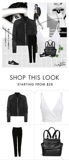 """""""ughipo"""" by horan-69 on Polyvore featuring мода, Chanel, Rick Owens, Dolce&Gabbana, Givenchy и NIKE"""