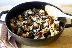 mushrooms and greens with toast Smitten Kitchen // add dijon + fried egg on top Veggie Recipes, Vegetarian Recipes, Best Cookbooks, Stuffed Mushrooms, Stuffed Peppers, Smitten Kitchen, One Pan Meals, Baked Pumpkin, Vegetable Dishes
