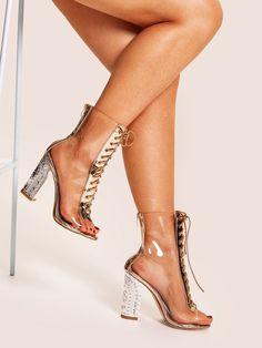 c7609688cf21 27 Best Transparent heels images