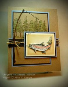 Trout-Fishing_by_TheresaCC by TheresaCC - Cards and Paper Crafts at Splitcoaststampers