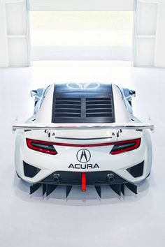 Acura NSX GT3 2017 - soon to be iconic car?
