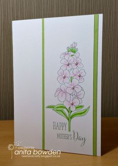 Neet & Crafty: Floral Mother's Day,Stamps: Clearly Besotted - Fresh Flowers