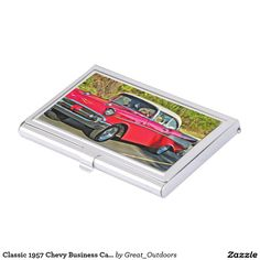 Classic 1957 Chevy Business Card Holder