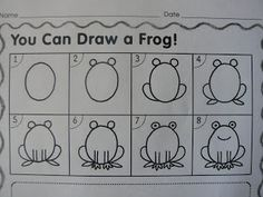 Mrs. T's First Grade Class: frogs