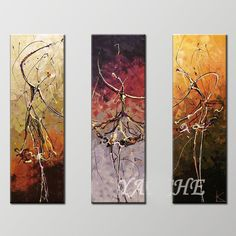 abstract dancer painting - Google Search
