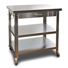 Small Kitchen Work Table A tiny kitchen is no excuse for a disorganized one with these danver cocina kitchen serving cart workwithnaturefo