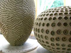 Peter Beard's ceramics.