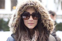 Sunglasses, fur