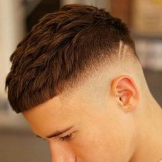 French Crop Haircut French Crop with High Fade Crop Haircut, Fade Haircut, Haircut Short, Haircut Men, Medium Hair Cuts, Short Hair Cuts, Short Hair Styles, Hairstyles Haircuts, Haircuts For Men