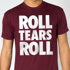 Texas A Aggies ROLL TEARS ROLL T-Shirt - Aggie District