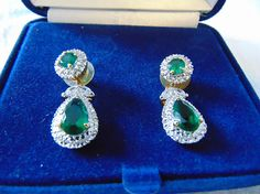 Your place to buy and sell all things handmade Jacqueline Kennedy Jewelry, Jackie Kennedy, Jewel Box, Feminine, Sparkle, Jewellery, Jewels, Drop Earrings, Crystals