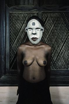 Leonce Raphael Agbodjelou, 'Untitled (Demoiselles de Porto-Novo series),' Museum of African Design (MOAD) School Photography, Art Photography, Nova, Contemporary African Art, Contemporary Design, Anthropologie, African Nations, Hidden Face, Photography Illustration