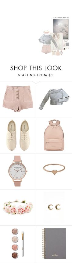 """""""// pink champagne. //"""" by sadfaerie ❤ liked on Polyvore featuring Alberta Ferretti, StyleNanda, H&M, Givenchy, Olivia Burton, Catbird, Forever 21, LowLuv, Terre Mère and Mulberry"""