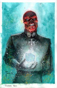 imthenic:  Red Skull by RichardPace