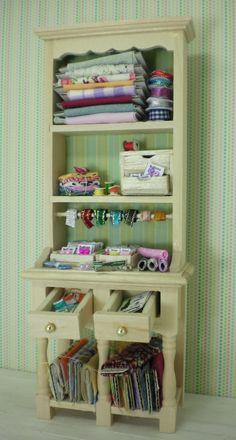 Miniature Dollhouse Haberdashery