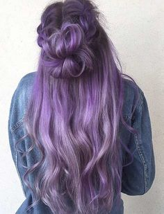 25 Beautiful Lavender Hair Color Ideas Long Lavender Hair Color Idea Related posts:Lilac hair Affordable Makeup Brands You Didn't Know Aboutcharacter traits, personality, story inspiration, character inspiration Pastel Hair, Ombre Hair, Blonde Babys, Light Blond, Honey Blond, Lavender Hair Colors, Beautiful Hair Color, Coloured Hair, Dye My Hair