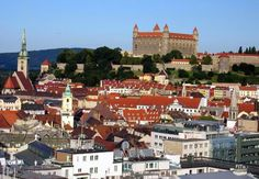 Bratislava-another beautiful city Cool Places To Visit, Places To Travel, European River Cruises, Bratislava Slovakia, Strange Places, Central Europe, Air Travel, Future Travel, European Travel