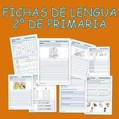 Ejercicios de lengua para 2º Primaria