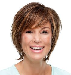 Diane Lace Front Wig by Jon Renau Medium Bob Hairstyles, Short Hairstyles For Women, Easy Hairstyles, Hairstyle Ideas, Pixie Haircuts, Teenage Hairstyles, Hair Ideas, Hairstyles Pictures, Layered Hairstyles