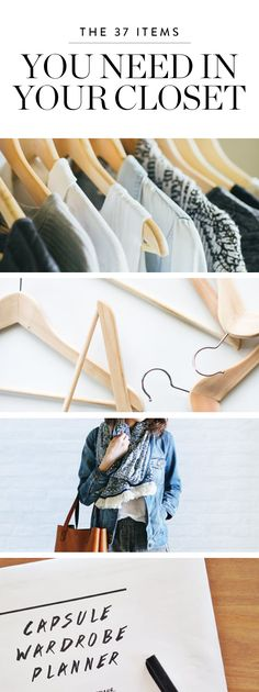 Ready to simplify your fashion staples? Here is how  to create a capsule collection from your own closet.