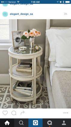 pretty side table #decor