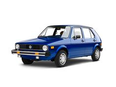 My first car, a 1978 VW Rabbit.