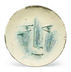 VISAGE By  Pablo Picasso  details at Zaidan Gallery http://www.zaidan.ca/Art_Gallery/Picasso/Picasso_Auctions/Picasso_VISAGE.htm