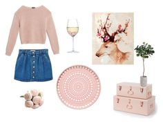"""""""soft pink"""" by derinoncag on Polyvore featuring MANGO, Max&Co., RabLabs ve iittala"""