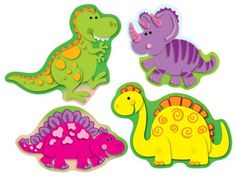 Dinosaurs | Shape Stickers