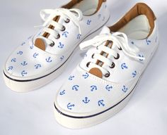 Zapatillas Anclas W – Comprar en Helter Skelter – Anchor Shoes W – Buy at Helter Skelter – accessories buy shoes Motorcycle Tips, Motorcycle Shoes, Anchor Shoes, Autumn Fashion 2018, Posca, Shoe Art, Painted Shoes, Outfit Goals, Designer Shoes
