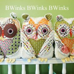 Love these owls.
