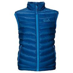 #Jack #Wolfskin #KIDS #ICECAMP #VEST #classic #blue Jack Wolfskin KIDS ICECAMP VEST classic blue, , Winddichte Weste mit Kunstfaserfüllung, Weste für den Winter