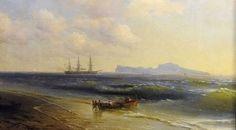 Из галереи в Тарусе вынесли картины Айвазовского и Поленова