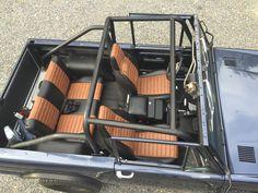 Rocky Roads - Custom Restored Broncos - pleated vinyl door ...