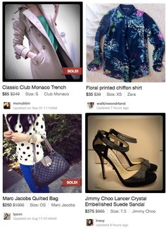 I've clothes for sale on this app! Buy and Sell Fashions with This Great iPhone app
