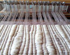 Weaving with RailReed (tool for adjusting warp density while weaving) Wood Grain, Loom, Weave, Creations, Decor, Wool, Decoration, Hair Lengthening