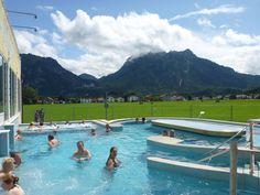 **Konigliche Kristall-Therme (beautiful mountain views from the spa) - Schwangau, Germany
