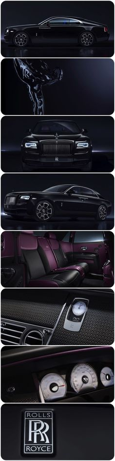 Black Badge - A New Rolls-Royce for the elusive, defiant people with attitude, the risk takers and disruptors who break the rules and laugh in the face of convention. @Rolls-Royce