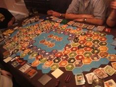 8-plyr Catan, Bubba would like this.