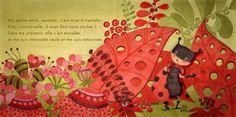 Illustration Coccinelle - Isabelle Monnerot-Dumaine - www.lespetitsbrins.com