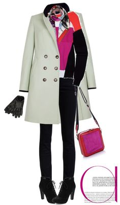 """""""Coat by TED BAKER"""" by fashionmonkey1 ❤ liked on Polyvore"""