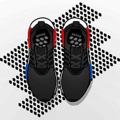 3c512637b28 Illustration of  adidas  NMD for  AdidasNYC.  adidas  undoordinary   sophiachang