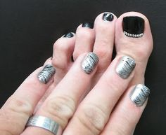 Men and nail polish / Maybe without the jewels just depends on the mood im going for