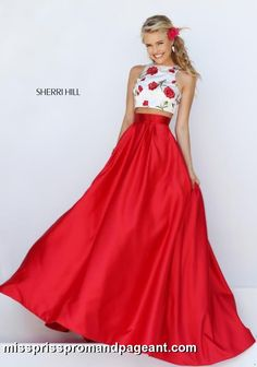 Sherri Hill 50232 Sherri Hill Miss Priss Prom and Pageant store, Lexington, Kentucky, largest selection of Sherri Hill prom gowns