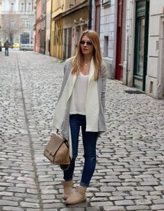 an open front cardigan