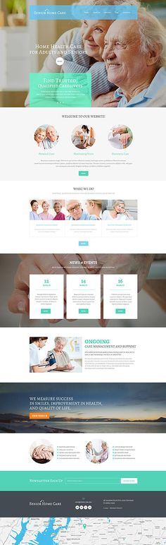 Altenpflege-WordPress-Theme