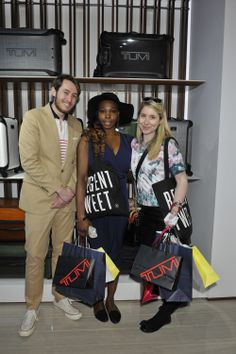 Nick Carvel talks to #RegentTweet bloggers about the latest trends in travel. #RegentStreet @Tumi
