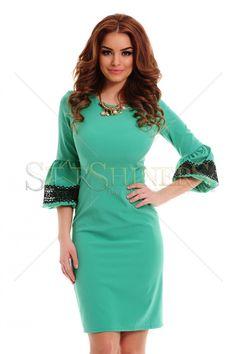 LaDonna Original Vision Green Dress